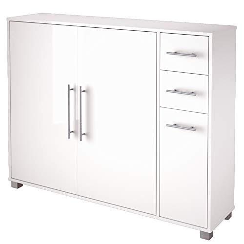 Schildmeyer Sydney 700780 Schuhschrank, 132 x 104, 5 x 33 cm, Weiß