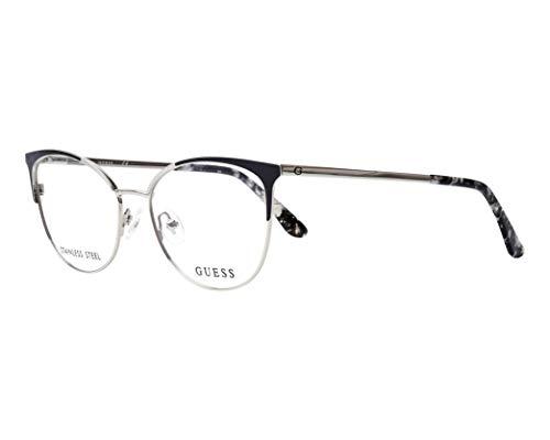 Guess Brille (GU-2704-V 005) Metall silber - glänzend schwarz