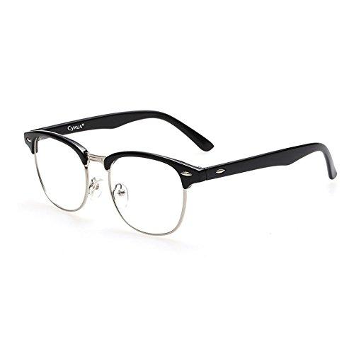 Cyxus luce blu filtro occhiali,computer bicchieri,Anti affaticamento della vista,unisex(uomo/donna),blocco uv,trasparente