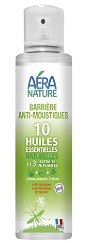 Repelente natural antimosquitos para pulverizar en el aire o sobre textil.