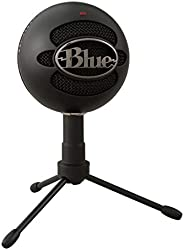 Blue Microphones Snowball iCE USB Mic for Recording and Streaming on PC and Mac, Cardioid Condenser Capsule, A
