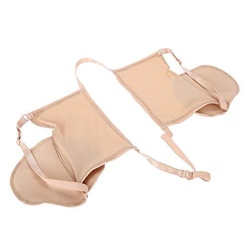 Achsel Sweat Pads, wiederverwendbare stark saugfähige Frauen waschbar Achselhöhle Sweat Guard perfekt für den Sommer Hautton