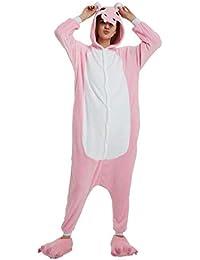 Yuson Girl Pijamas de Unicornio Pijamas de UnaPieza Adulto Pijamas Unisexo Adulto Traje Disfraz Adulto Animal