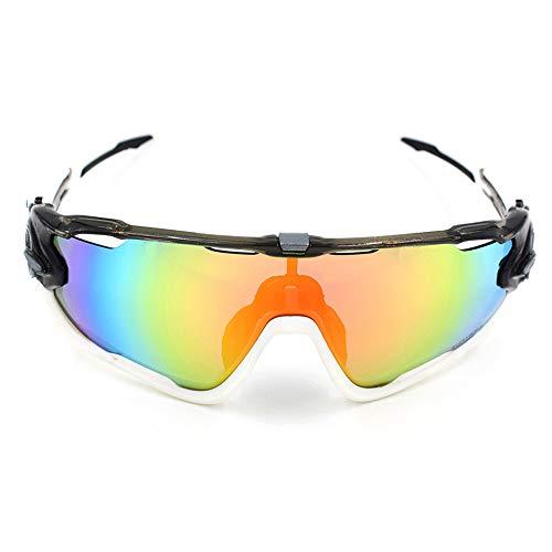Z.L.F Brille Schutzbrille Outdoor Sports TR90 Mountainbike Outdoor Reiten Sonnenbrillen und Schutzbrillen Sport Augenschutzbrille (Color : 4, Size : One Size)