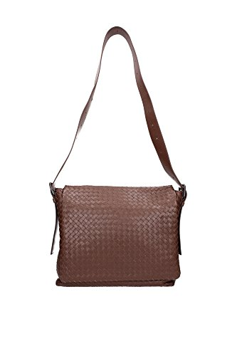 Satchels-Bottega-Veneta-Men-Leather-Brown-161314VQ1312515-Brown-8x29x35-cm
