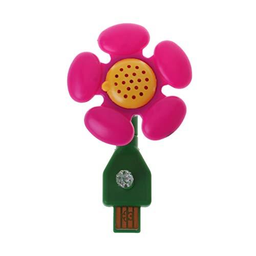 Brilcon Portable Essential Oil Diffuser Puerto USB Ambientador Oficina Hogar Aromaterapia Vino Rojo | Azul