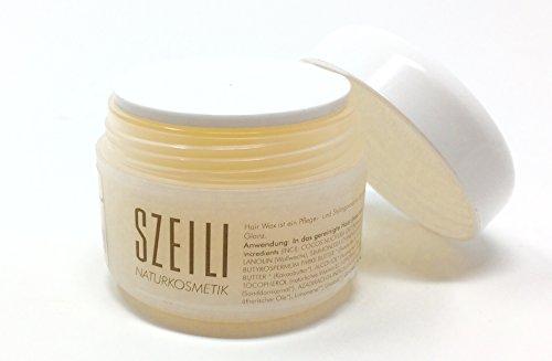 100% natürliches Bio Haarwachs von SZEILI Naturkosmetik - höchste Qualität - UV-Schutz - Austria Bio Garantie Siegel