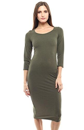 2LUV Damen Kleid, grün (Tween Dressy Kleider)