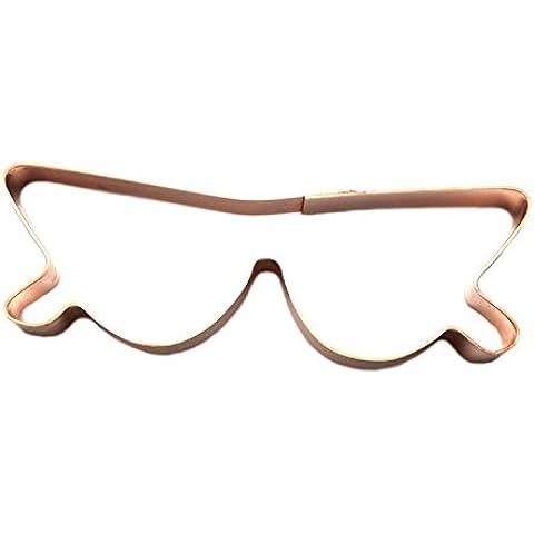 Gafas de sol de ojo de gato cortador de galletas