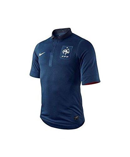 Nike Francia Authentic Maglia 2011/2012, colore: blu/bianco, taglia: xl