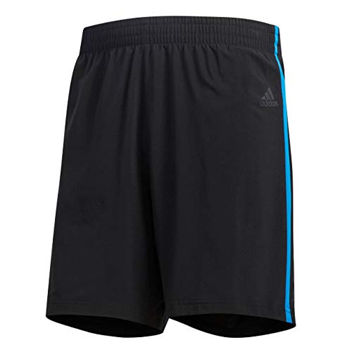 adidas Herren Response Shorts 1/2 Black/Bright Blue M 9 Zoll Preisvergleich