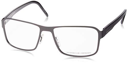 Porsche Design - P8290, Rechteckig, Metall, Herrenbrillen, DARK GREY(A ZB), 56/17/140