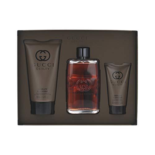 Gucci Guilty Absolute Set EDP Eau de Parfum 90ml + After Shave Balm 50ml + Shower Gel 150ml