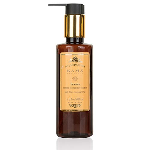 Kama Ayurveda Sanobar Hair Conditioner with Pure Essential Oils of Cypress and Orange, 200ml