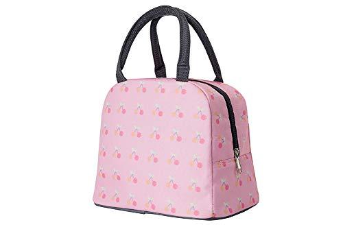 CBWZDJZDS Picknick-Tasche, umweltfreundliche Isolierung, Lunchtasche für Kinder, Cartoon, tragbar, Aluminiumfolie, 24 x 15 x 15,5 cm -