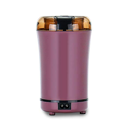 WEF Elektrisch Edelstahl Smoothie Kleine Edelstahl Soja Milch Maschine Pulver Maschine Medizin Pulver Maschine kaffeemühle Pink -