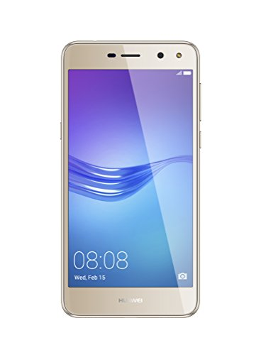 "Huawei Y6 2017 Dual SIM 4G 2GB Gold - Smartphones (12.7 cm (5""), 2 GB, 13 MP, Android, 6, Gold)"