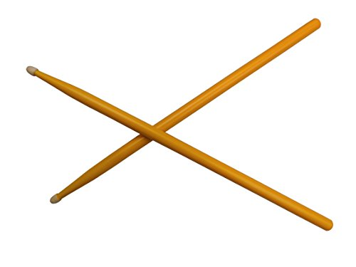New Drum Sticks 5A Maple Drumsticks For Kids and Adults In Exciting Orange!!
