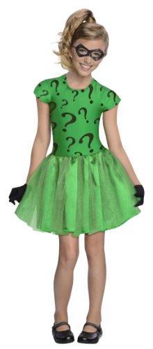Riddler Kostüm Mädchen (Riddler Kostüm Tutu für)