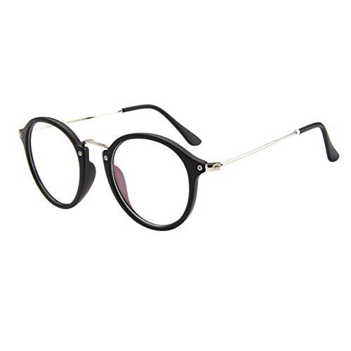 Snakell Brille Extra Schmaler Rahmen! Slim Rechteck Nerd Clear Brille Frame Runde Brille Retro Metall Klare Linse Brille Damen Runde Dünn Metall Rahmen Brille Ohne Stärke Klare Linse