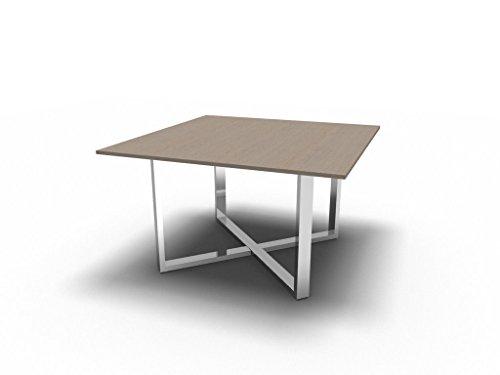 Besprechungstisch LOOPY für 4 Personen, Konferenztisch, Hochwertige Büromöbel