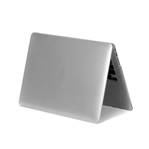 YiJee Cover Laptop Colore del Metallo Custodia Shell Rigida per Macbook Air 11.6-15.4 Pollici 13.3pro Inch Argento