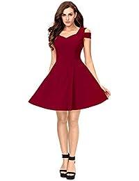 c843c079cdbc9 Purples Women's Dresses: Buy Purples Women's Dresses online at best ...