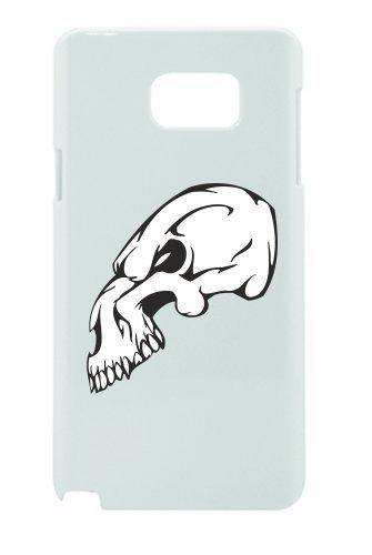 Smartphone Case teschio scheletro senza mandibola Rocker Frecce Club Gothic Biker Skull Emo Old School per Apple Iphone 4/4S, 5/5S, 5C, 6/6S, 7& Samsung Galaxy S4, S5, S6, S6Edge, S