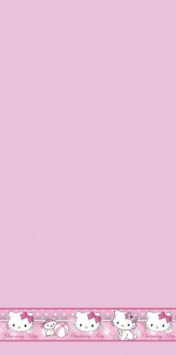 Hello Kitty Charmmy Kitty Badetuch Strandtuch Rosa 70x140 400gsm EDEL (Hello Kitty-geschenke Für Kinder)