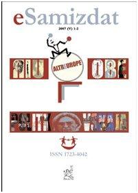 ESamizdat. Rivista di culture dei paesi slavi (2007): 5