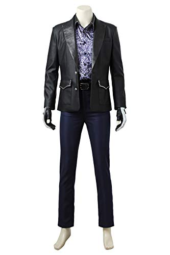 Karnestore Final Fantasy XV Ignis Scientia Outfit Schwarze Jacke Cosplay Kostüm Herren XXXL