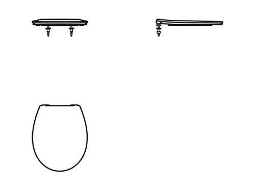 Ideal Standard WC-Sitz revo, softclosing, Weiß, E131801