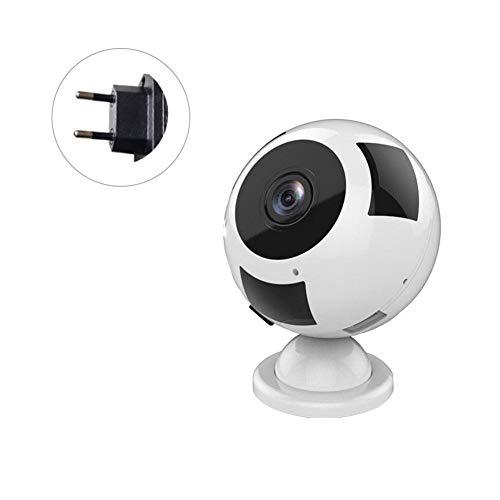 Wireless WiFi Kamera 960 P HD 360 ° Panorama Home Security Überwachungskamera Indoor-Kamera mit Nachtsicht, 2-Wege-Talking und Motion Detection (Motion-detection-überwachungskamera)