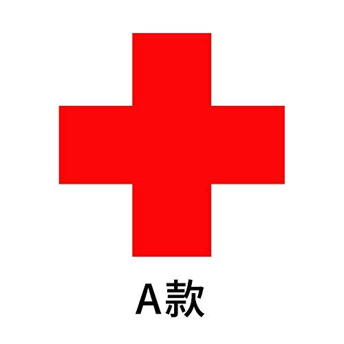 XCGZ Wandsticker Rotes Kreuz dekorative Aufkleber Medizin Zimmer Logo Logo Krankenhaus klinik erste Hilfe Auto Aufkleber glastür Aufkleber, 30 * 30cm