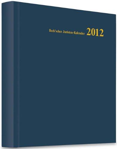 Beck'scher Juristen-Kalender 2012