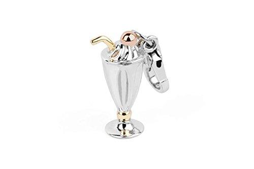 Coppa Gelato Rosato: Ciondolo in Argento Collezione My Home -