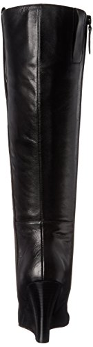 Nine West Oran cuir mi-haute Boot Black
