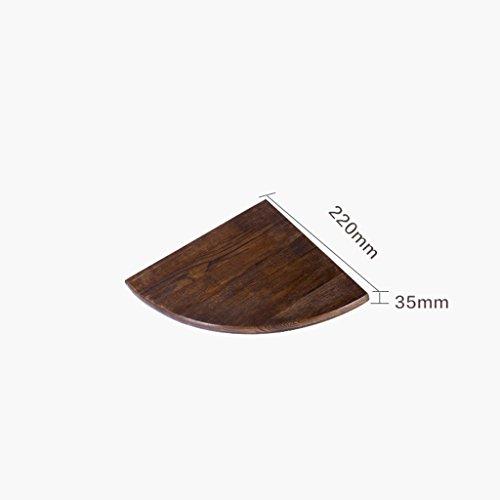 &espositore fioriera in legno massello fioriera in legno da salotto ad angolo con divisorio angolare ( colore : b )