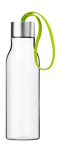 Eva Solo 502988 Trinkflasche, Mit Trageschlaufe, 0,5 L, Kunststoff, Lime, 28 x 10 x 10 cm