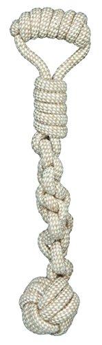 Trixie 32646 Spieltau mit eingeflochtenem Ball, ø 8/38 cm