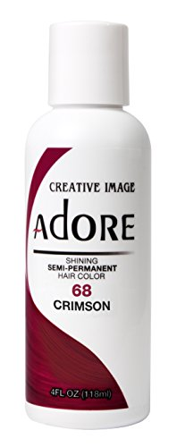 Creative Image Adore Shining Semi-Permanent Hair Color 68 Crimson (Farbe Semi Haar Permanente)