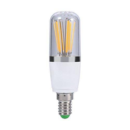 LED Filament Glühbirne, 220V Schraubsockel E14dimmbar LED Energiesparend Bright Home Deckenleuchte Anhänger Kronleuchter Licht Lampe Birne Ersatz Vintage Style -
