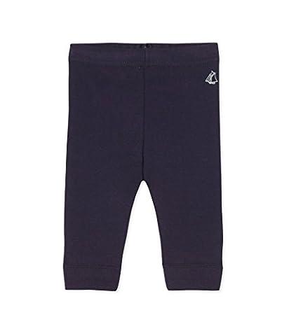 PETIT BATEAU Baby Leggings, Blue (Smoking K84), 6M