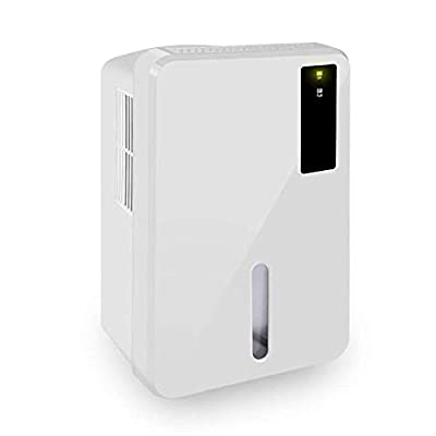KY&cL Electric Mini Dehumidifier, Compact and Portable for Damp Air, Moisture in Home, Office With Super Quiet Operation And Air Purification Portable Dehumidifier
