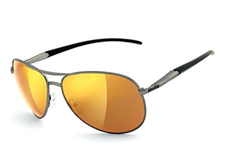 Preisvergleich Produktbild Helly Bikereyes Bikerbrille Sonnenbrille 625g-agv laser gold