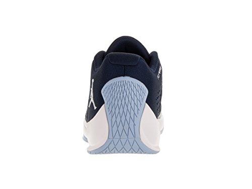 Nike Jordan Rising Hi-Low, Scarpe da Basket Uomo Blu (Azul Marino (Mid Nvy / White-Ic Bl-Unvrsty Bl))