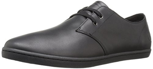 Fred Perry Byron Low Leather B9076102, Basket Noir