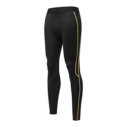 Moresave Uomini Shorts di compressione strato di base termici pantaloncini