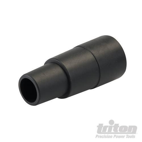 Pvc-vakuum-anschluss (Staub Port Adapter 32mm/1-1/10,2cm USA/Kanada und langlebigem PVC. Passt Alle Triton Power Tool Staubabsaugung Anschlüsse passt auf Standard Vakuum Schläuche. Konisch 2-stufigen Design. zuschneidbar)