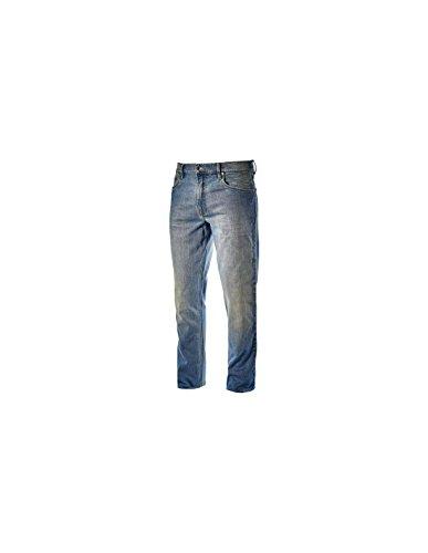 Diadora Pantalone Lavoro Jeans 5 tasche Tg. 50 Blu - Stone 5 PKT - 170750-C6207